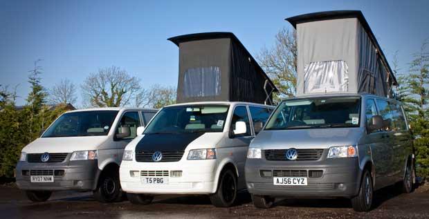 Preston Campervans Camper Van Conversions VW T5 Volkswagen T6