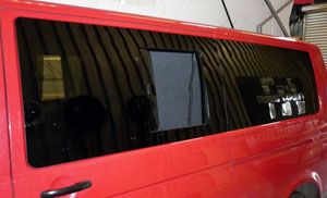 Campervan Window Fitting